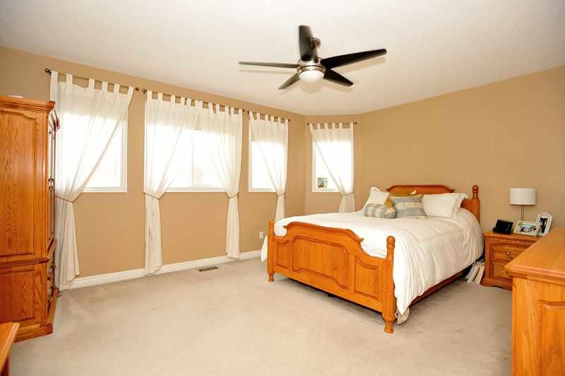 Master Bedroom with Broadloom & 4-piece Ensuite