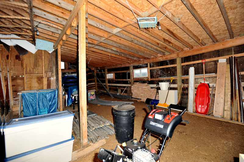 Inside of Barn Area. 10 acres For sale,