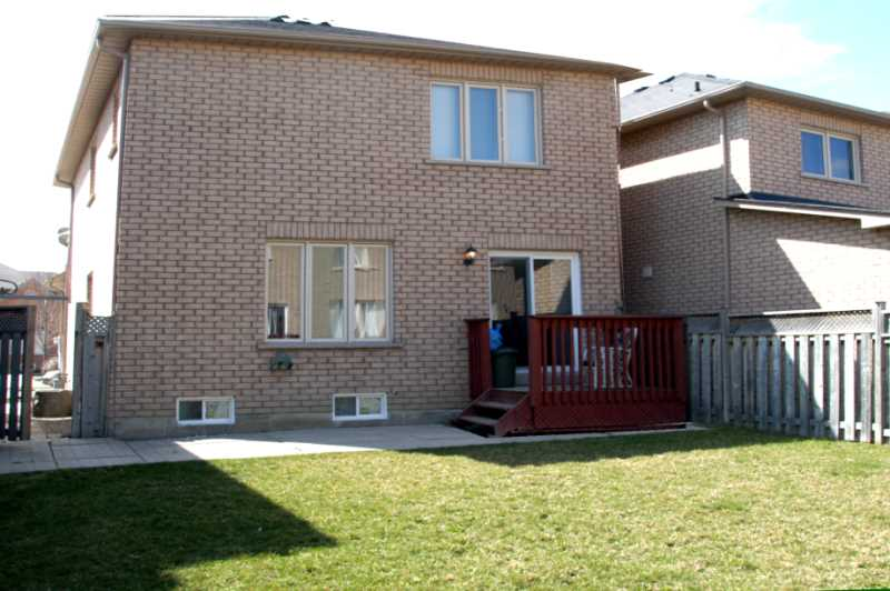 End Unit, Attached by Garage ONLY, Walk Out to Yard