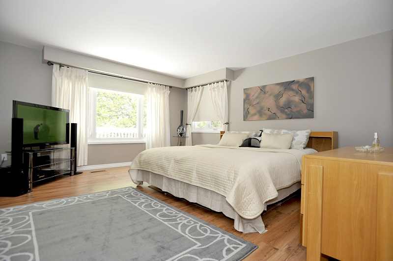 Master Bedroom has a walk-in closet with organizers and a stunning 6-piece ensuite