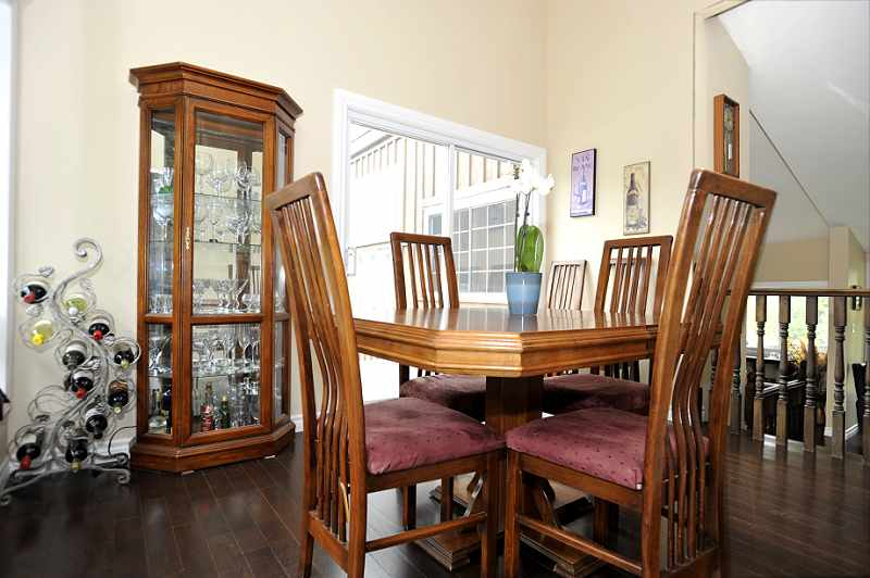 Dining Room has hardwood flooring
