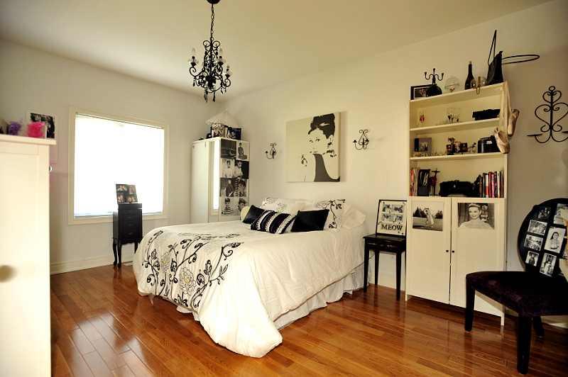 Bedroom #2 has hardwood flooring, a walk-in closet & a 4-piece semi-ensuite bathroom