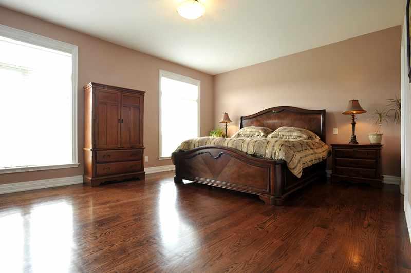 Master bedroom two closets, hardwood flooring, 6-piece ensuite