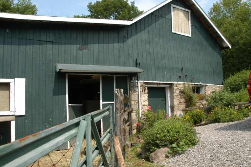 post and beam home, barn, half acre, for sale, mary klein