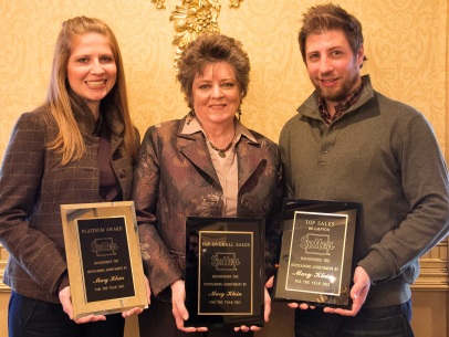 Mary Klein, Platinum Award, Top Sales, Overall Top Producer 2012