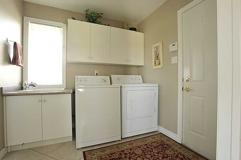 laundry main floor