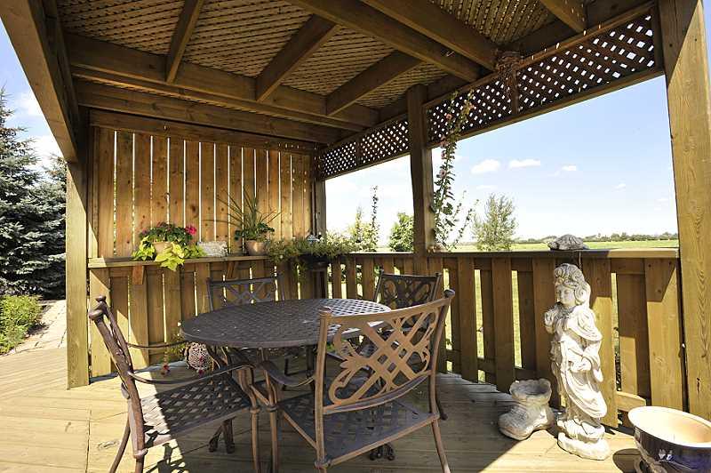 Deck, Gazebo, Patio, country setting, caledon