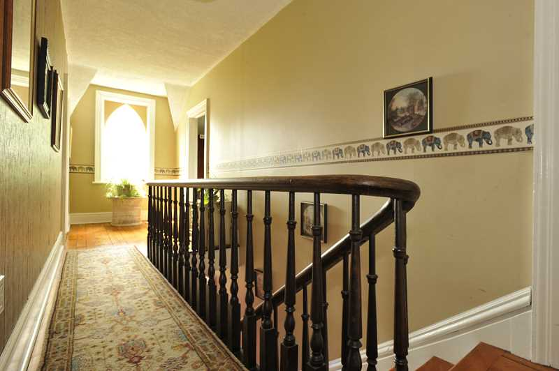 original bannister, 1890, staircase