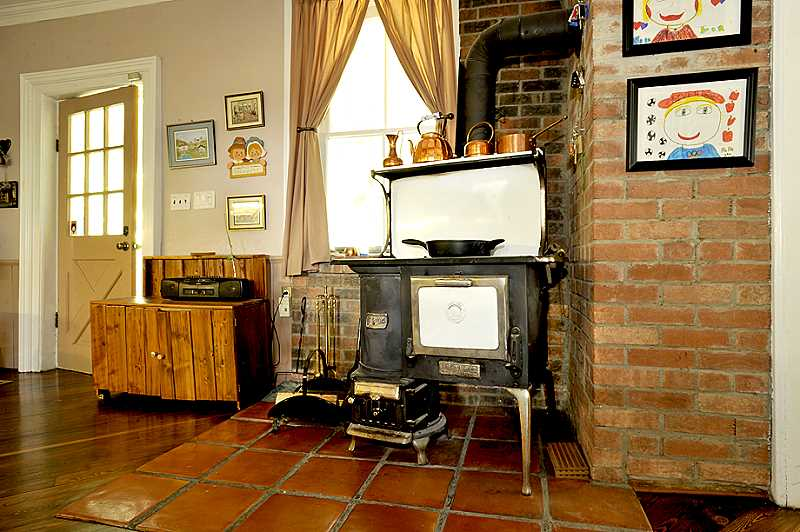 wood-burning cookstove