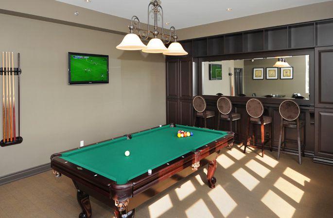 Pool Table, Bar rental, Watermark Property, Orangeville