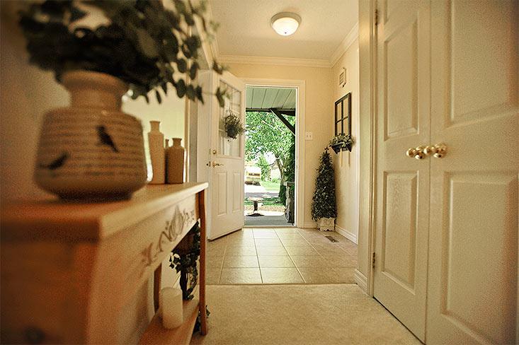 Front Entry,  Ceramic Floors