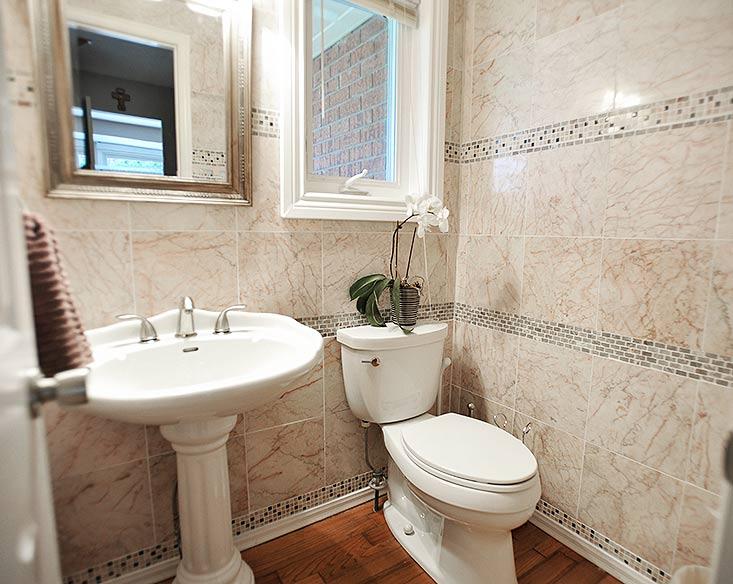 2 piece bathroom, main floor