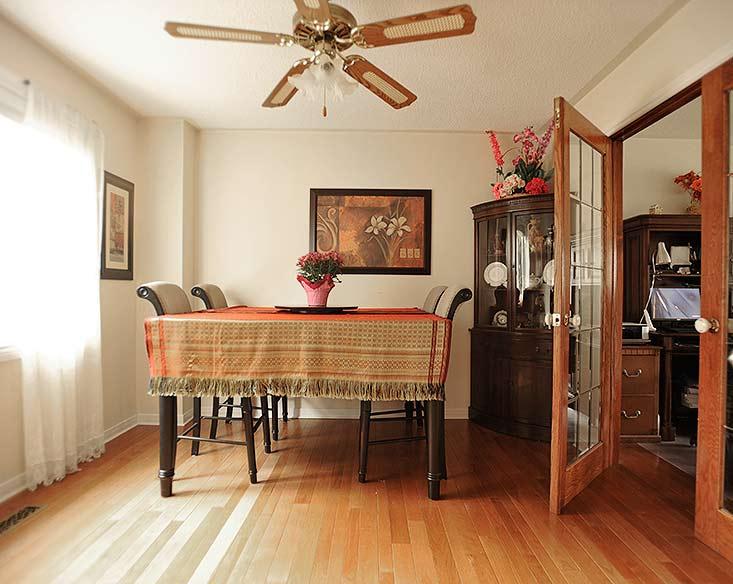 French Doors, Hardwood Floor