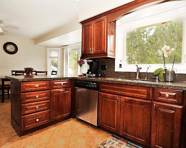 Renovated Kitchen, Granite, picture Window