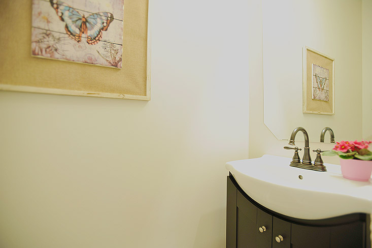 Main Floor 2 piece Bathroom