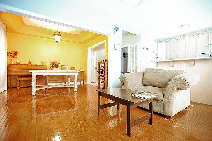 Open Concept, Hardwood Floor