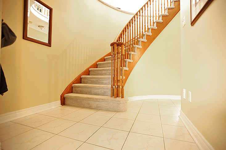 Staircase, Front Foyer