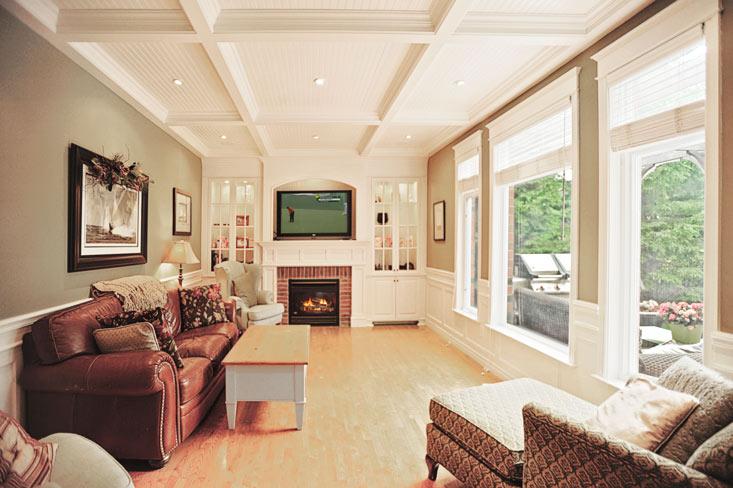 Hardwood Floors, Gas Fireplace