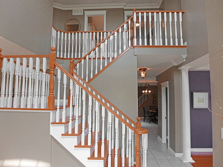 Entry, Staircase, Model Home