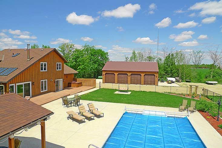20th Sideroad, East Garafraxa, 10 Acres, Detached Workshop, Home For Sale