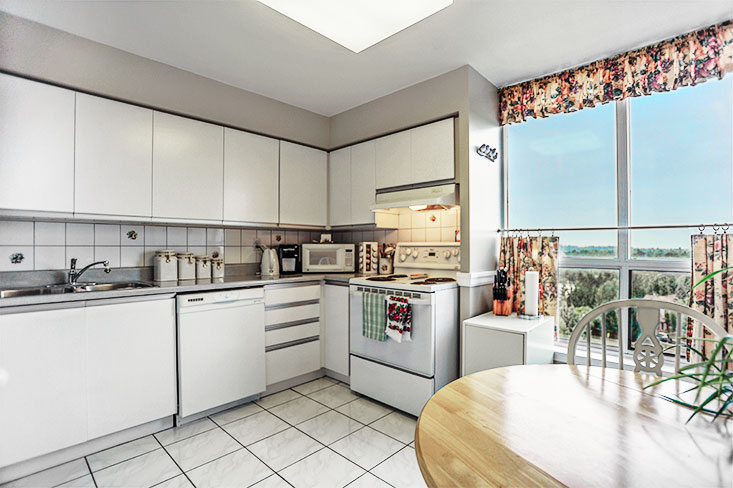 Kitchen, Ceramic Floors