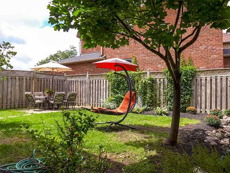 Gardens, Fenced, Patio