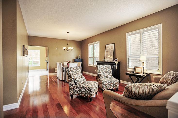 living, dining room, hardwood, Kait Klein