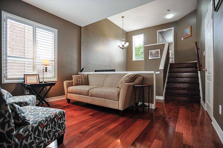 Hardwood Floors, Living