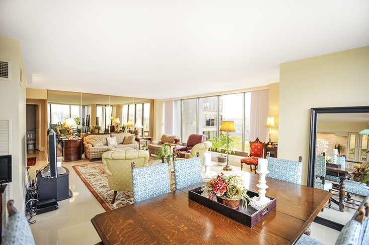 Living dining room combined