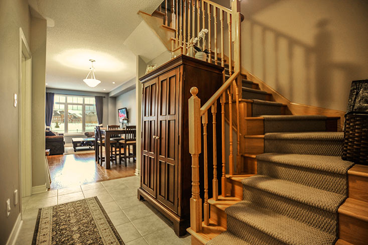 Oak Staircase to landing