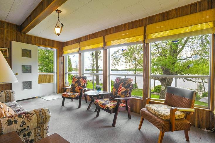 Sun Room, Lake Views
