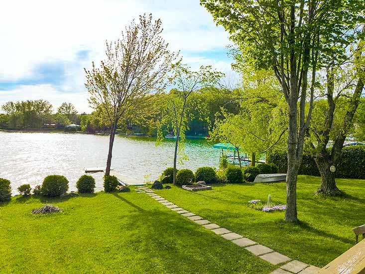 Waterfront property, cottage, Lake Eugenia