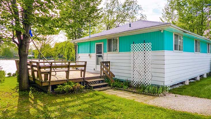 Side Deck, Entry, Cottage, BBQ