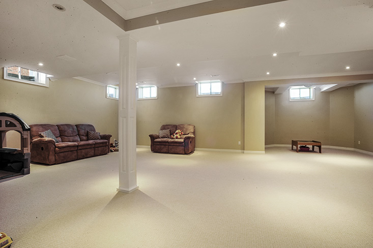 Finished Basement, Bayberry Road