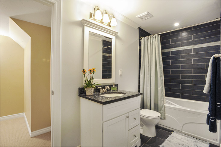 4-piece bathroom, finished basement