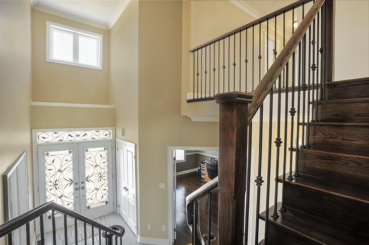 Staircase to 2nd storey