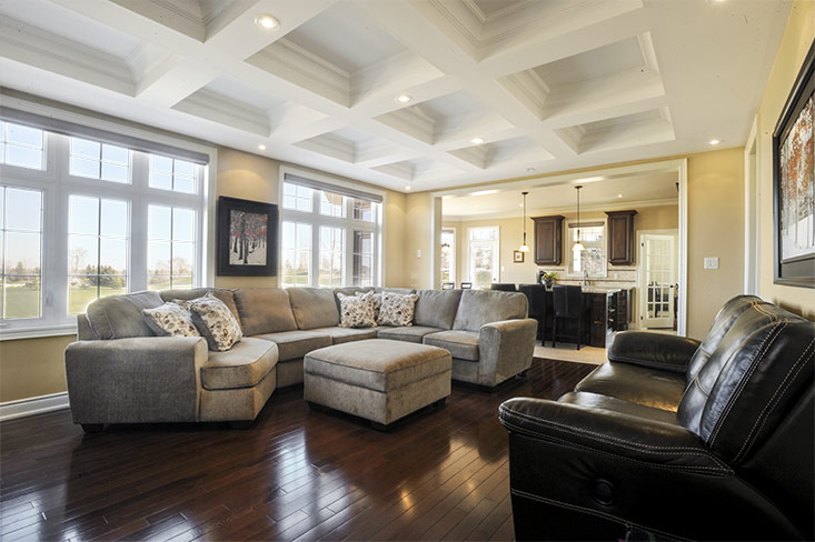 Family Room, Great Room, Bayberry