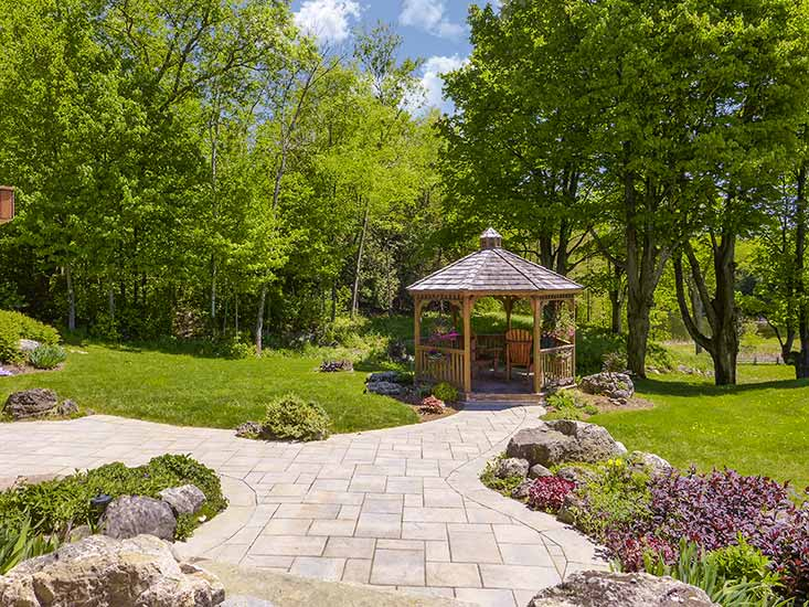 Professionally Landscaped, Gazebo
