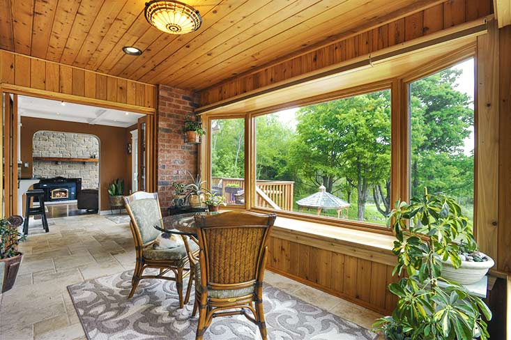 Heated Sunroom, Ravine Views