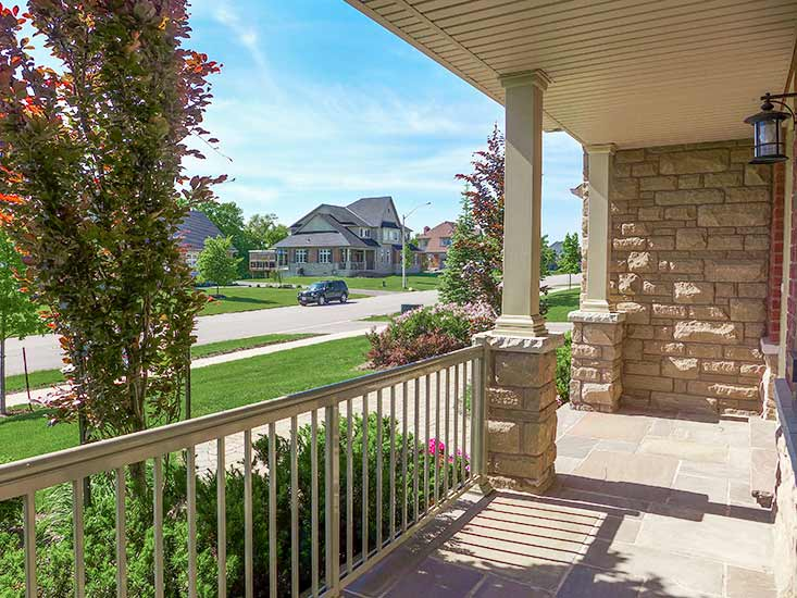 Front Porch, Country Living, Estate Subdivision