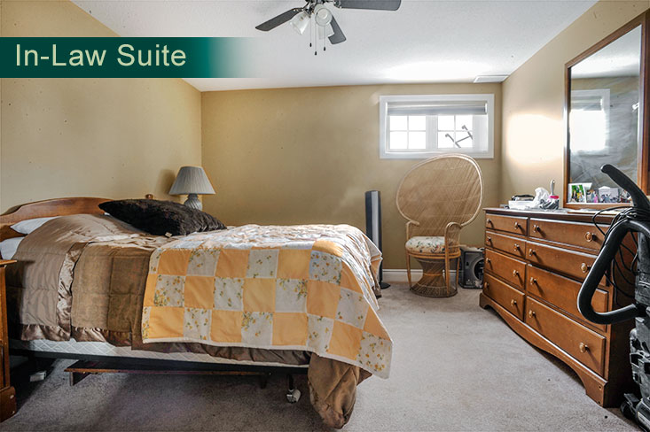 Bedroom, apartment