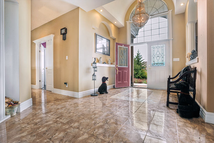 Bright Foyer