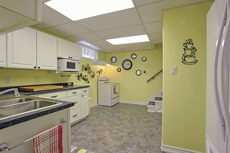 Nanny Suite Kitchen