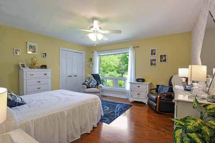Bedroom 2, hardwood