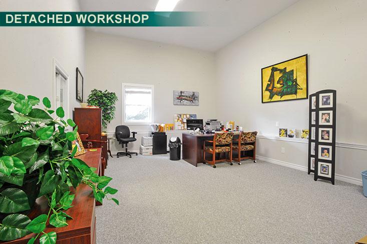 second office, detached workshop