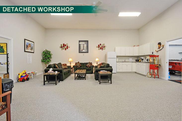 Office Space, detached workshop, garage, caledon, for sale