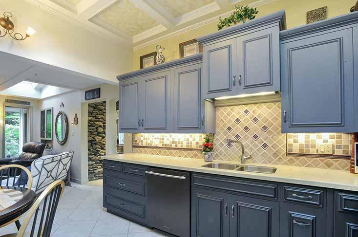 Kitchen, Ceramic Backsplash