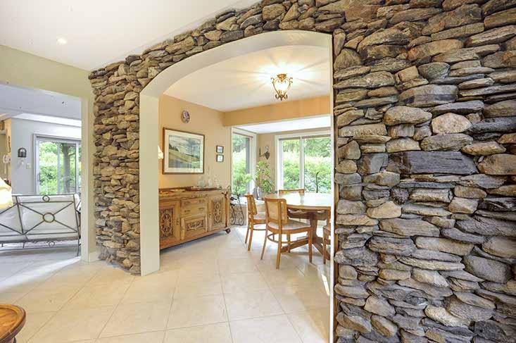 Living Room, Stone Wall