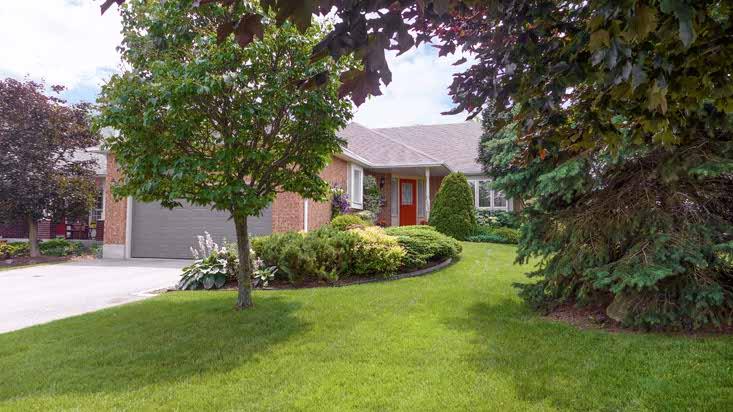 2 bedroom bungalow, orangeville, for sale
