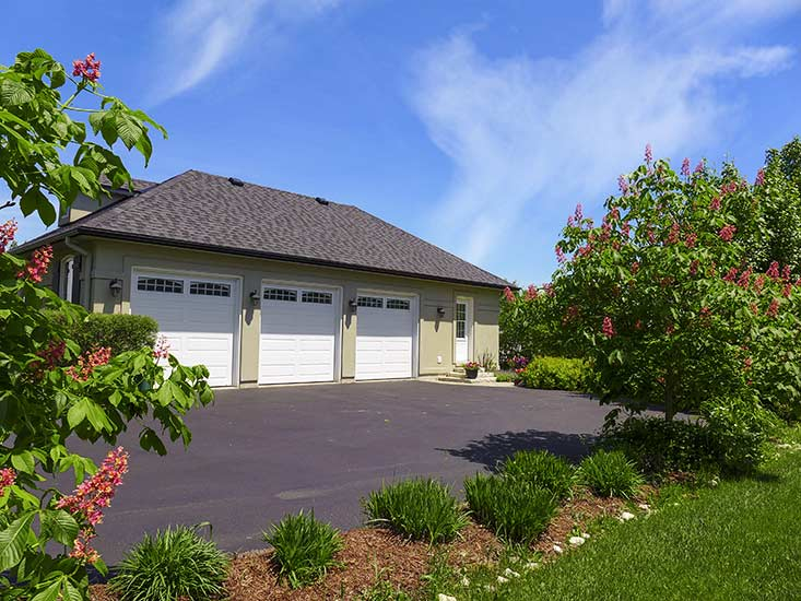 3 car garage, estate subdivision, pro-landscaped
